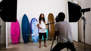 Surfflow Gold Coast Based Surfer Takessh Video Production at 11Past11Stdio