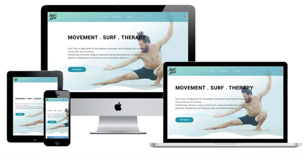 Surfflow Takkesh Website Design