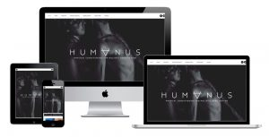 Humanus Courtney Webb Wordpress Webdesign by 11Past11Studio Gold Coast