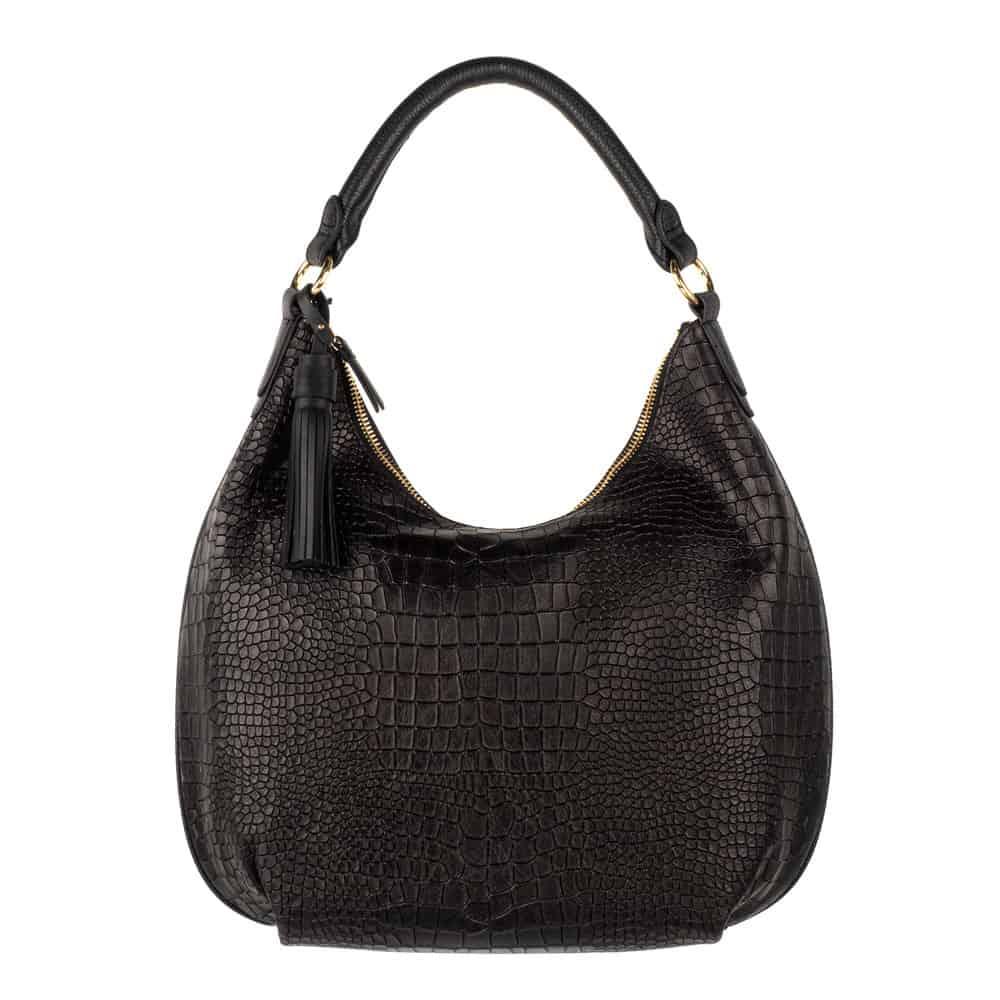 product photography goldcoast black crock bag